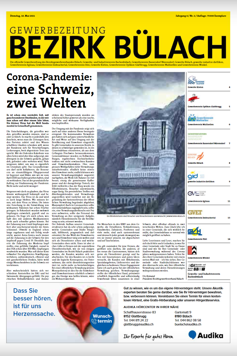 Gewerbezeitung Bülach